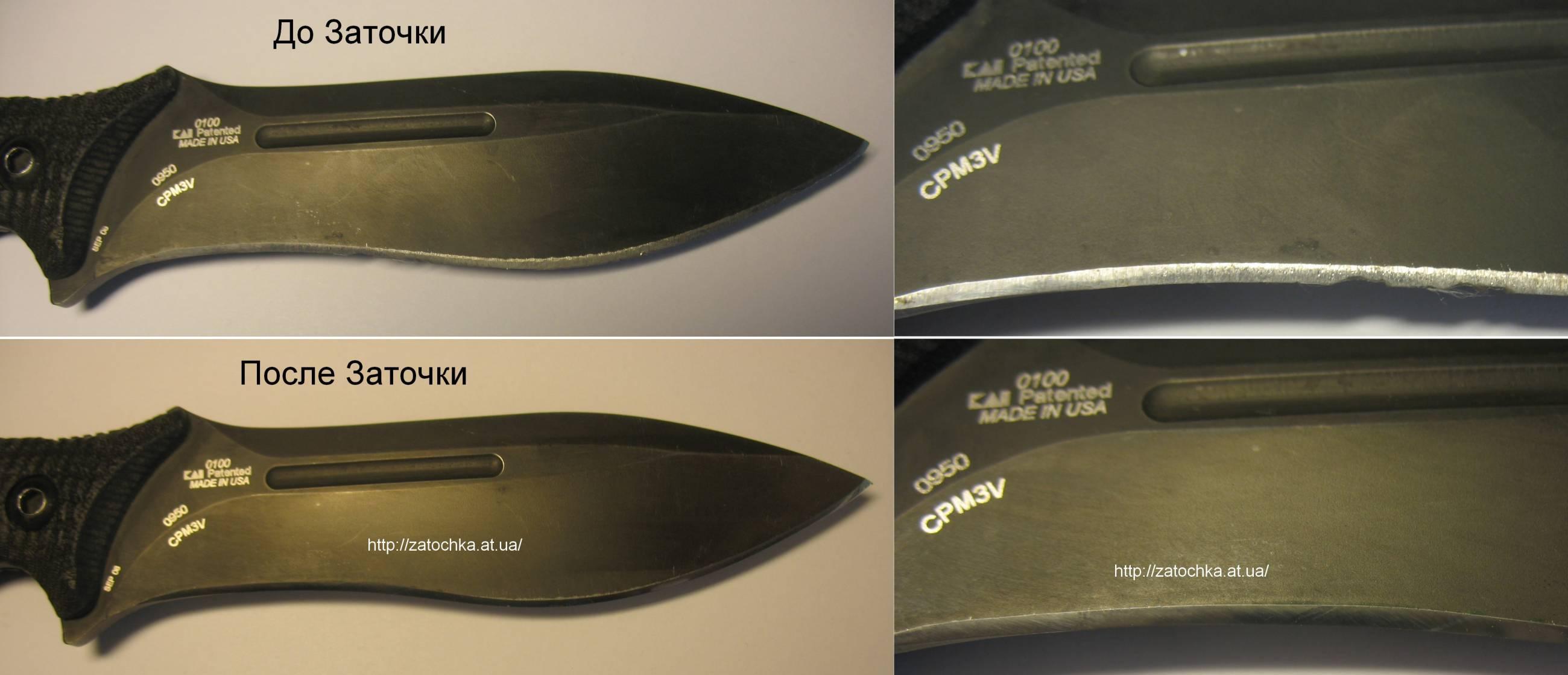 Чем заточить охотничий нож в домашних условиях